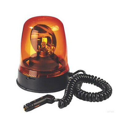Britax 394 Magnetic Mount Agriculture Halogen Rotating Flashing Amber Beacon
