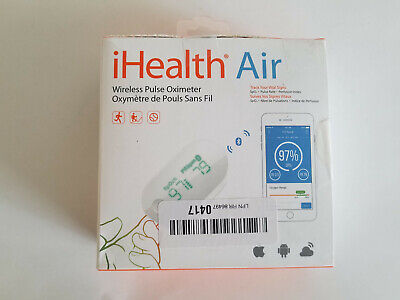 iHealth Air Wireless Fingertip Pulse Oximeter with Plethysmograph