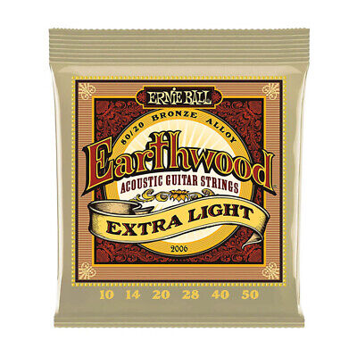 Ernie Ball 2006 Earthwood Extra Light Corde per chitarra acustica 10-50 S4L6