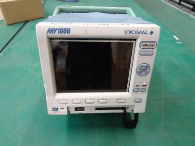 【AS-IS】Yokogawa MV1000 6CH PORTABLE PAPERLESS RECORDER