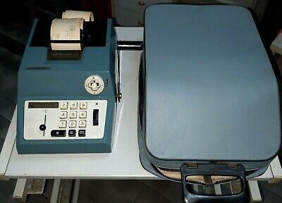 Olivetti Summa Prima 20 Calcolatrice Manuale Del 1960 Post M1 Vintage Calculator