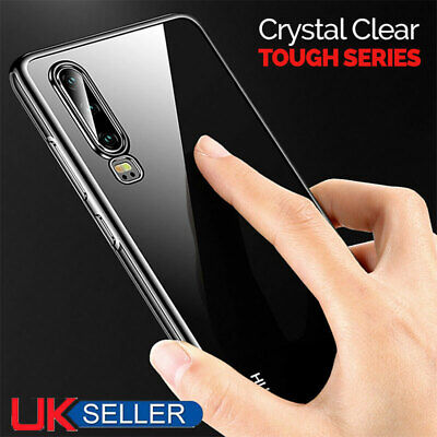 Transparent Case For Huawei P30 Pro Smart Covers Shockproof Silicone Gel Cases