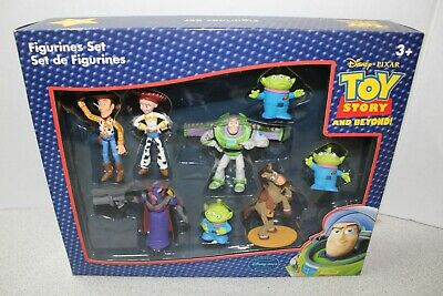 Disney Toy Story And Beyond Figurine Set with Buzz Woody Zurg Bullseye Jessie