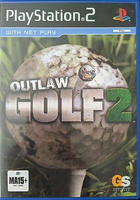 Playstation 2 PS2 Game Outlaw Golf 2