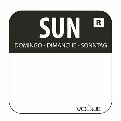 Vogue Removable Colour Coded Food Labels Stickers Adhesive Sticky Restaurant