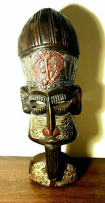 African art Figure Manual carving  Ashanti 46 cm 22335 Art Tribale  Primitive