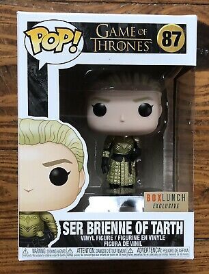 FUNKO POP GAME OF THRONES SER BRIENNE OF TARTH BOX LUNCH EXCLUSIVE see desc