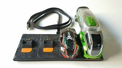 Lot of 2 Anki Overdrive Cars & Charger. AC Power Cord Great Pre-owned Condition!