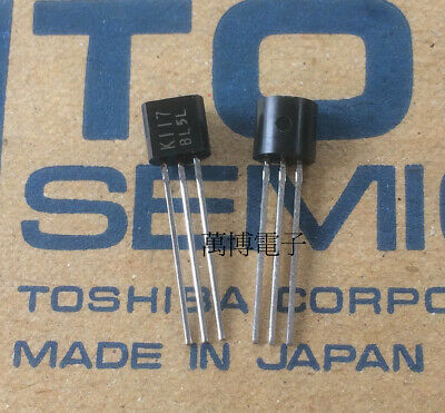 TOSHIBA 2SK389-BL DIP-7 N CHANNEL JUNCTION TYPE LOW NOISE