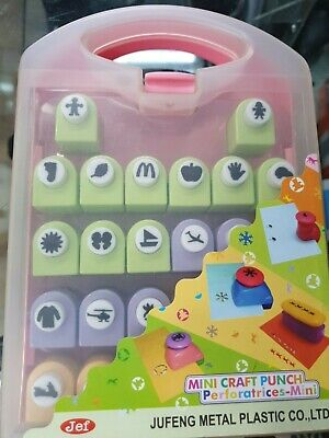 Jef Mini Craft Punches x 20 with case