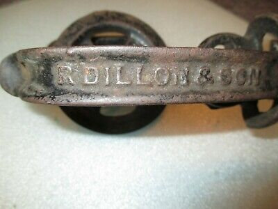 Antique Barn   Door  Latch With Handle R. Dillon & Sons Inside And Outside