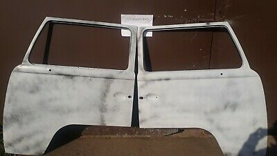 VW T2 Right Bay Window Wing Mirror Chrome 1967-79 Late Style Bus Aircooled O//S