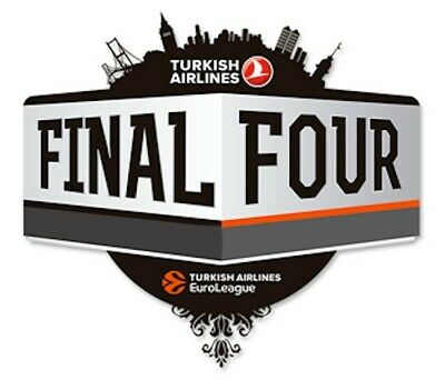SEASON TICKET Turkish Airlines EuroLeague Final Four 2020 COLOGONE - GERMANY