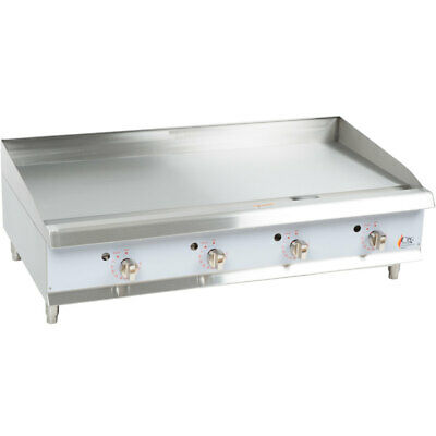 Cooking Performance Group G48T Heavy-Duty Gas Countertop Griddle