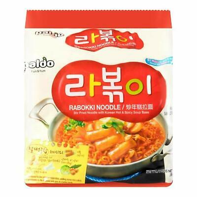 Paldo Rabokki Ramen 145g (Pack of 4)