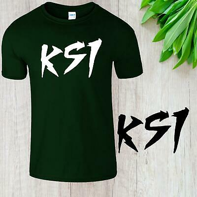 KSI Keep Up Kids T-Shirt Sidemen YouTube Adults Army  Gaming Boys Gilrs Gift Tee