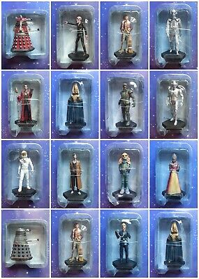 Doctor Who Eaglemoss Figurine Collection Issues 1 to 53 Model Figure Lot
