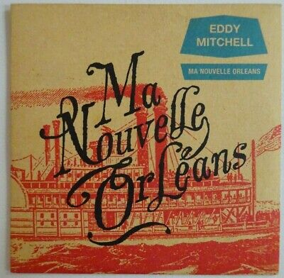 EDDY MITCHELL : MA NOUVELLE ORLEANS ♦ CD Single Promo ♦