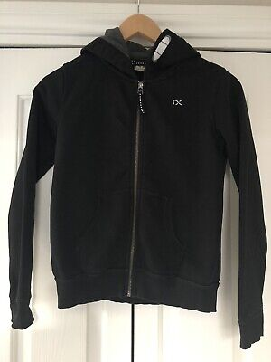 Next, Zipped Hoodie For School, Girls 13 Years, Black, Cotton Mix