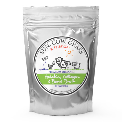 Multi-Collagen Powder - Mixes with water - Pure Protein Organics - Grass-fed