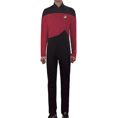 Star Trek  Jumpsuit Uniform The Next Generation Yellow Blue Red Costumes
