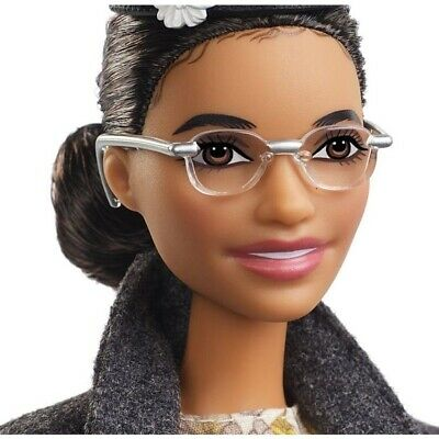 NEW Rosa Parks Mattel Barbie Doll Inspiring Women Series