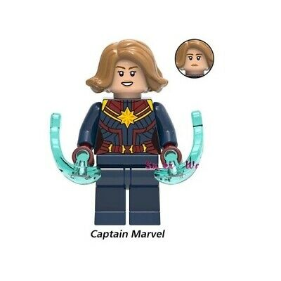 G3 - Captain Marvel - End Game - Custom Minifigures  MOC LEGO - Nuovo in Blister