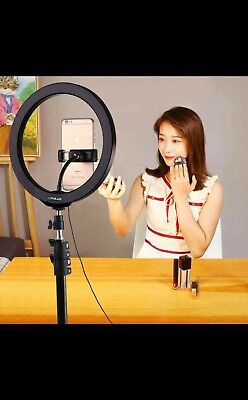 Vlogging Lighting Light Video Tripod Mount Filming Staging Kit Photography Stand
