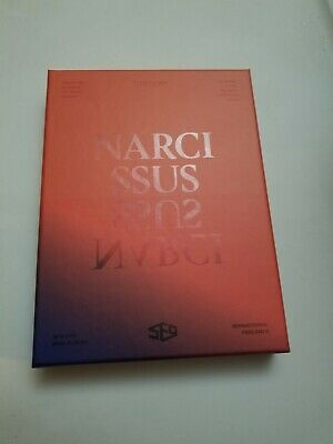 SF9 6th Mini Album [NARCISSUS] TEMPTATION Ver. CD+Booklet+2p Photocard included