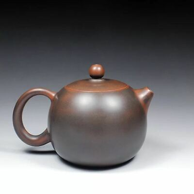 Chinese old fine handmade ceramics yixing zisha xishi teapot marked