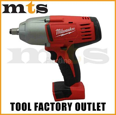 "Milwaukee 18V M18 Cordless 1/2"" High Torque Impact Wrench 2663-20 With Friction"