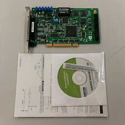 Advantech PCI-1718HDU PCI Data Acquisition ADC Card -16 Chan 12 Bit Program Gain