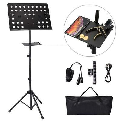 Music Stand EXJOY Sheet Collapsible for Orchestra Professional Music