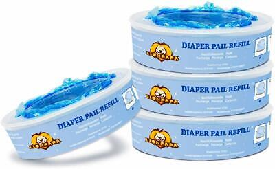 4 Pack Nappy Disposal Refills for Angelcare Nappy Disposal Systems