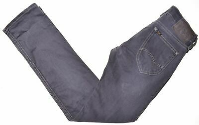 LEE Boys Jeans 11-12 Years W25 L30 Grey Cotton Straight Perry HT01
