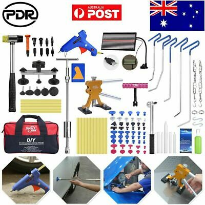 PDR Tools Dent Puller Lifter Car Body Paintless Hail Repair Removal LED Light AU