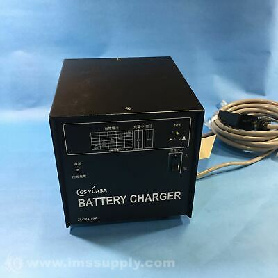 GS Yuasa ZLC24-15A Electric Vehicle Battery Charger, 100-200V FNIP