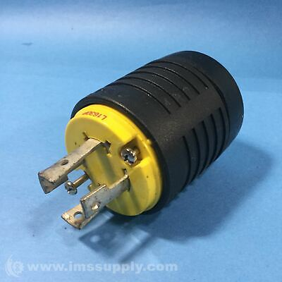 Pass & Seymour L1630-P Electrical Twist-Lock Cable Plug, 30A 480V FNIP