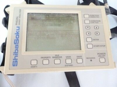 【AS-IS】Shibasoku Handy Analyzer PHS35L with AC Adapter