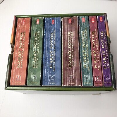 Harry Potter Complete Book Set Scholastic Books 1 To 7
