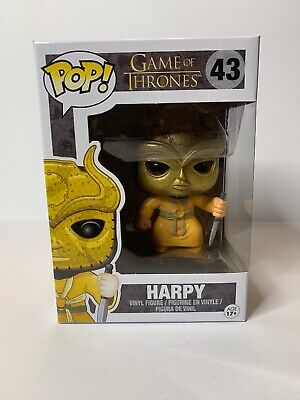 Funko Pop Game Of Thrones Harpy #43 Authentic Vaulted Retired Edition Six