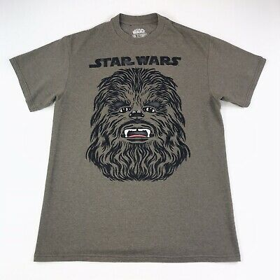 Authentic STAR WARS Chewy Face Chewbacca T-Shirt S M L XL 2XL NEW