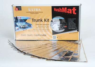 10301 Hushmat Trunk Kit Has 10 Silver Sheets Of 12X23 In Ultra. Total 19.1 Sqft.