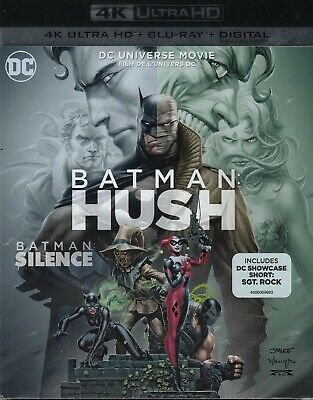 Batman Hush (4K Ultra Hd/Bluray)(2 Disc Set)(Used)