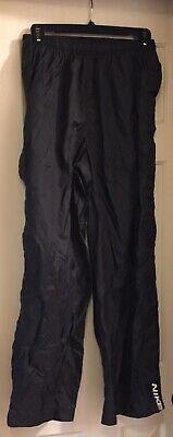 NIKE Black pants Athletic Tear Away Side Snap  BASKETBALL Mens L