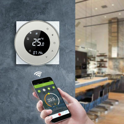 WIFI Smart Cronotermostato Programmabile Digitale Touch Screen Termostato