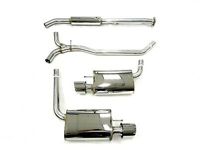 OBX Catback Exhaust System for 2015-17 Honda Accord V6 3.5L 2Dr. Coupe