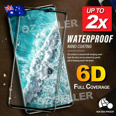 2x For Samsung Galaxy S10 5G S9 Plus Note 10 9 Tempered Glass Screen Protector