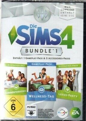 Die Sims 4 - Bundle Pack 1 - Downloadcode - PC - Neu / OVP