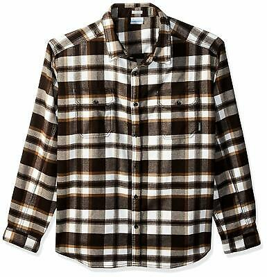 Columbia Mens Deschutes River Heavyweight Flannel Classic Fit Insulated